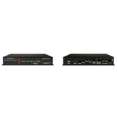 Contemporary Research QIP-DVX IPTV Decoder and Controller Front and Back View